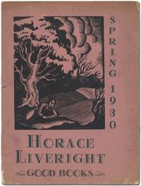 An Announcement of Publications for the Spring of 1930