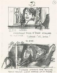 image of D.C. Cab [DC Cab, Capitol Cab] (Original storyboards for the 1983 film)