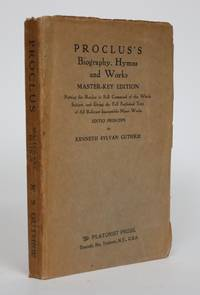 image of Proclus's Biography, Hymns and Works. Master-Key Edition