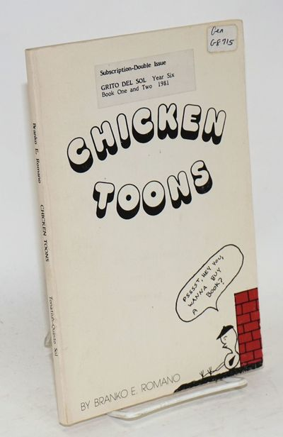 Berkeley: Tonatiuh-Quinto Sol International, 1982. Paperback. 93p., very good first edition trade pa...