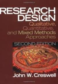 image of Research Design: Qualitative, Quantitative, and Mixed Methods Approaches (2nd Edition)