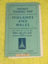 District Touring Map, Midlands and Wales