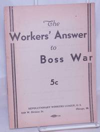 image of The workers' answer to boss war
