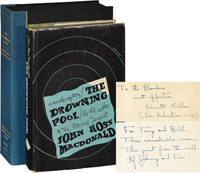 The Drowning Pool (Signed First Edition, dedication copy, inscribed to Anthony Boucher)