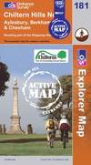 image of Chiltern Hills North (OS Explorer Map Active)