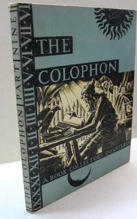 The Colophon; A Book Collectors' Quarterly  PART NINE