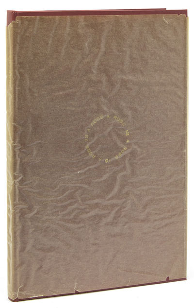 New Haven: Yale University Library, 1941. First edition. 64 pp. 1 vols. 8vo. Bound in later red clot...