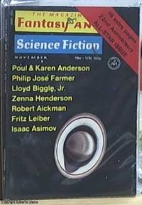 image of Fantasy and Science Fiction; Volume 41 Number 5, November 1971