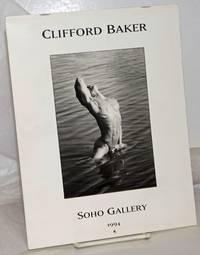 image of Clifford Baker, Soho Gallery calendar 1994