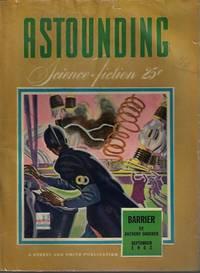 """image of ASTOUNDING Science Fiction: September, Sept. 1942 (""""Nerves"""")"""