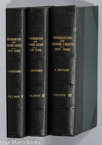 Binghamton And Broome County, New York, A History.[ct In 3 Vols]