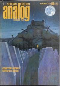 "image of ANALOG Science Fiction/ Science Fact: November, Nov. 1972 (""Cemetary World"")"