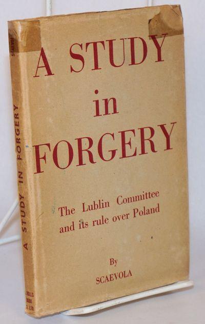 London: J. Rolls book Co. Ltd, 1945. viii, 123p., several photoportraits, first English-language edi...