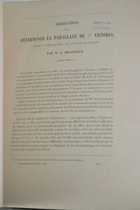Observations pour Determiner la Parallaxe de 12 Victoria