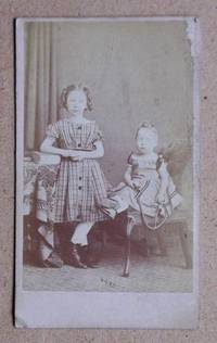 Carte De Visite Photograph: Portrait of Two Young Girls.