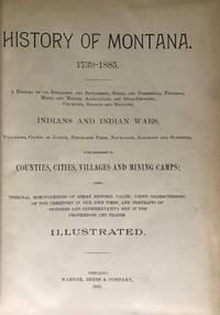 History of Montana 1739-1885
