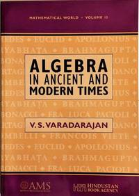 Algebra in Ancient and Modern Times.