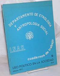 image of Departamento de Etnologia y Antropologia Social: Cuadernos de trabajo 18 Uso Politico en la sociedad