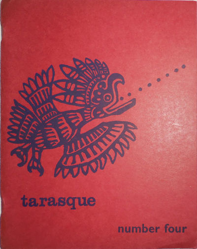 No Place : Tarasque, No Date. First edition. Paperback. Very Good. Wide stapled wrappers. Scarce ear...