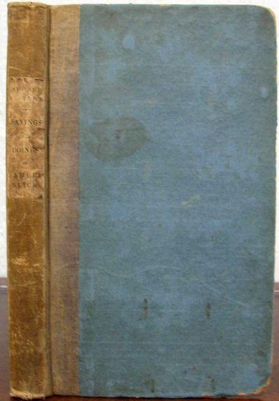 Philadelphia: Carey Lea and Blanchard, 1838. 1st US edition (American Imprints 50681; cf. Watters, p...