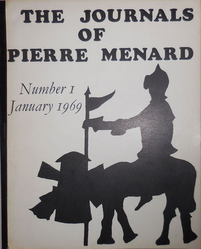 Oxford: Journals of Pierre Menard, 1969. First edition. Paperback. Very Good. Tape-bound 4to. First ...