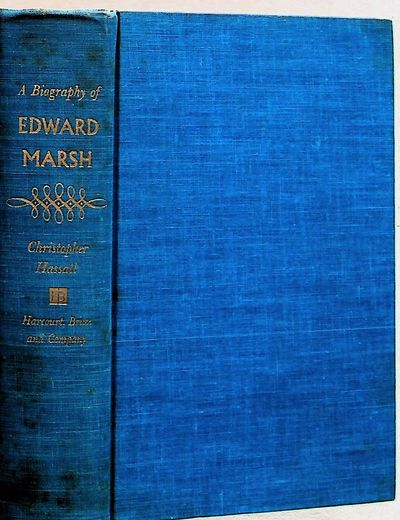 New York: Harcourt, Brace and Company, 1959. Hardcover. Very Good. Hardcover. 8vo. Very good in blue...