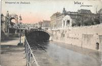 image of Wienportal im Stadtpark, Wien 1, Johannesgasse ca 1927 Postcard