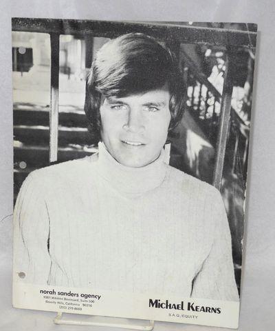 Beverly Hills: Norah Sanders Agency, 1980. 4-panel 8.5x11 inch headshot portfolio including 7 shots ...