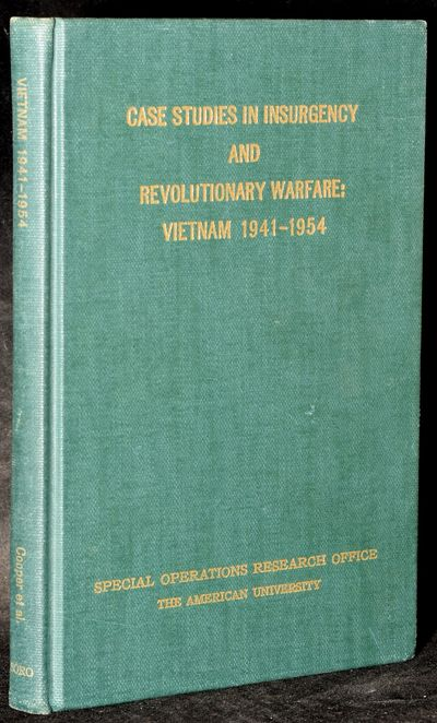 Special Operations Research Office | The American University, 1964. Hard Cover. Near Fine binding. I...