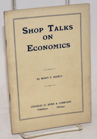 Chicago: Charles H. Kerr & Company, 1933. Pamphlet. 58p., stapled wraps, 5x7.25 inches, wraps faded ...