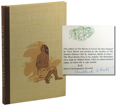 LA: Limited Editions Club, 1956. Hardcover. Very good. #610 of 1500cc signed by the illustrator Mill...