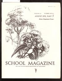 image of School Magazine - New South Wales Dept. Of Education - August 1978 Part 5 Vol.63 No.7