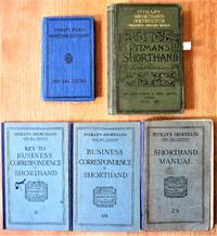 Lot of Seven: Vintage Books on Shorthand