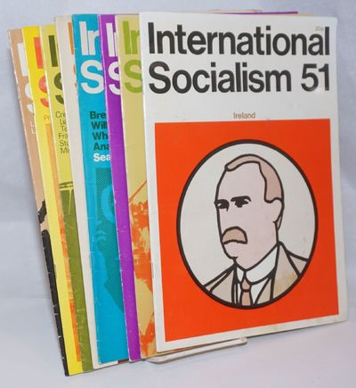 London: Socialist Review Publishing Co Ltd, 1973. Magazine. Eight issues of the magazine, a complete...