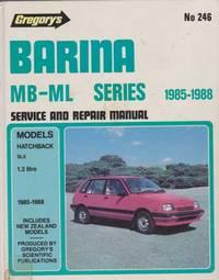 Gregory's Barina MB-ML Series 1985-1988 Service and Repair Manual No. 246