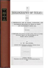 A BIBLIOGRAPHY OF TEXAS
