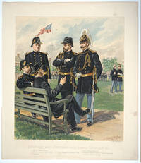 image of Staff and Line Officers [Full Dress] Chaplain & c.  Chromolithograph