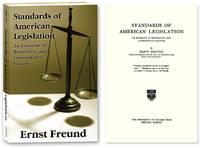 Standards of American Legislation. PAPERBACK..