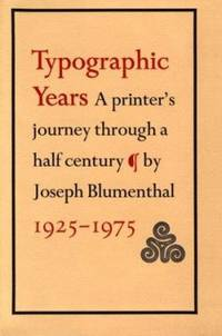 image of Typographic Years : A Printer's Journey Through a Half Century