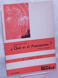 image of Disquisiciones sobre ¿Qué es el anarquismo? Primera conferencia