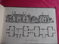 HINTS ON COTTAGE ARCHITECTURE, BEING A SELECTION OF DESIGNS FOR LABOURER'S COTTAGES. Singly in Pairs, and in Groups, with Plans, Elevations and Estimates.