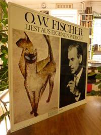 O. W. Fischer liest aus eigenen Werken -  Langspielplatte (enthält: Muschis tot / Das Heupferdchen / Gedanken über das Theater),