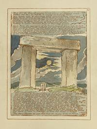 Individual Facsimile Prints from the Trianon Press; Jerusalem, Sterling Copy E, plate 70 by  William Blake - from Archives Fine Books  (SKU: 1207)