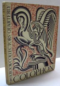 The Colophon; A Book Collectors' Quarterly  PART TEN