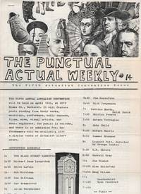 The Punctual Actual Weekly 14 (1977) - The Fifth Actualist Convention Issue