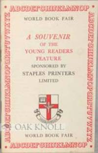 (London): Staples Printers Limited, 1964. self paper wrappers. Printing. 12mo. self paper wrappers. ...