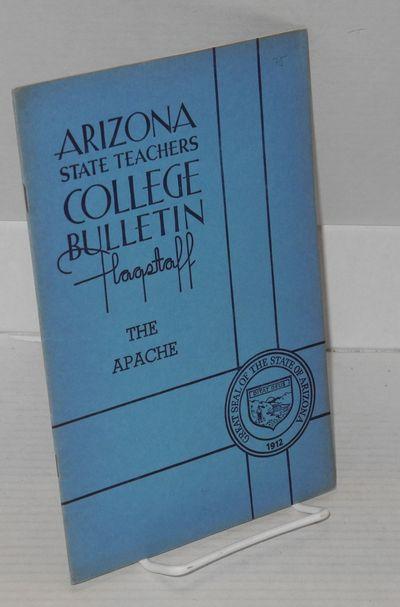Flagstaff: Arizona State Teachers College at Flagstaff, 1939. Magazine. 16p., 6x9 inches, foreword, ...