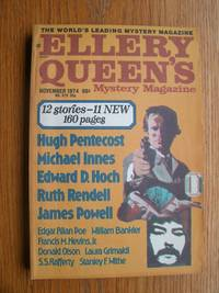 Ellery Queen's Mystery Magazine November 1974 by  Edward D. Hoch  Ruth Rendell - Paperback - First Appearance first printing - 1974 - from Scene of the Crime Books, IOBA (SKU: biblio15617)