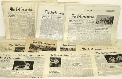 : , 1952. A gathering of 47 issues of The Jeffersonian, the newpaper of Thomas Jefferson High School...