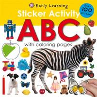 Sticker Activity ABC : Over 100 Stickers with Coloring Pages